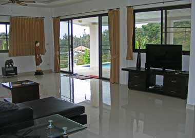 View from the living area
