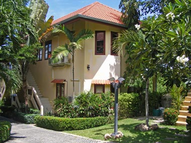 One of the Koh Samui longterm rental apartment houses