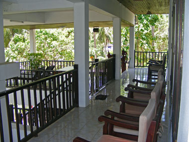 Guestrooms terrace