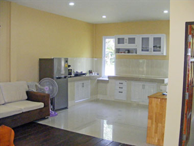 Living-kitchen area