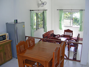 Kitchen- living area