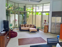 Living area of the Koh Samui long term rental house Lipa Noi 02