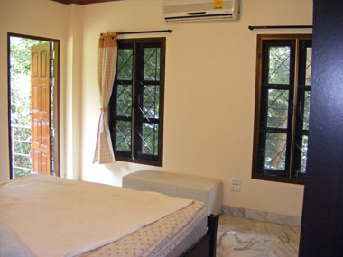 Bedroom 1 with terrace