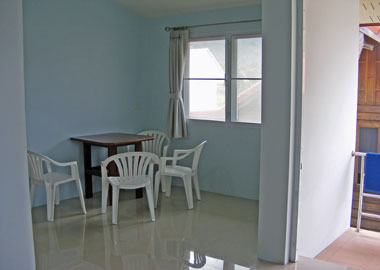 dining area in house type A