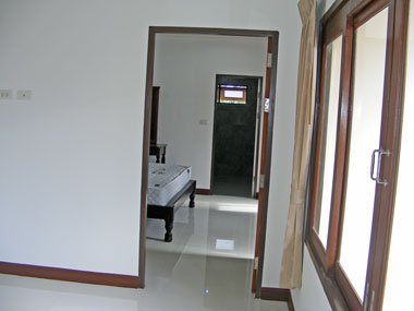 view to the bedroom